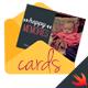 Celebration Cards - iOS Swift App
