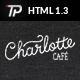 Charlotte - Café Bistro HTML Template - ThemeForest Item for Sale