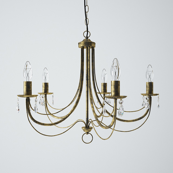 Vitaluce V1253/5 Chandelier - 3DOcean Item for Sale