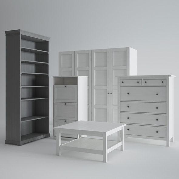 Ikea Furniture - 3DOcean Item for Sale