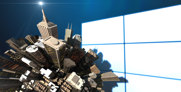 After Effects Project - VideoHive Mini 3D World City Skyscraper Logo Opener 164607