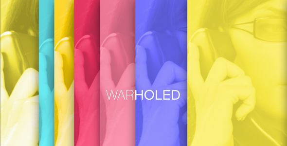 After Effects Project - VideoHive Warholed 165600