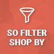 SO Filter Shop By - Responsive OpenCart Module