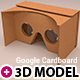 Download Google Cardboard from 3DOcean