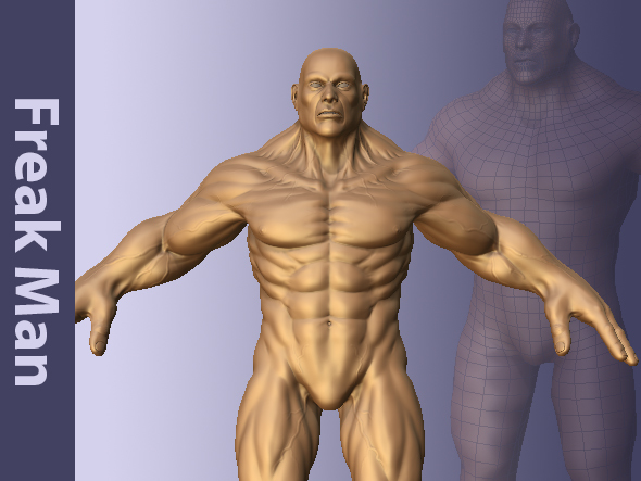 Freak Man - 3DOcean Item for Sale
