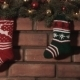 Multi-Colored Socks For Christmas Gifts