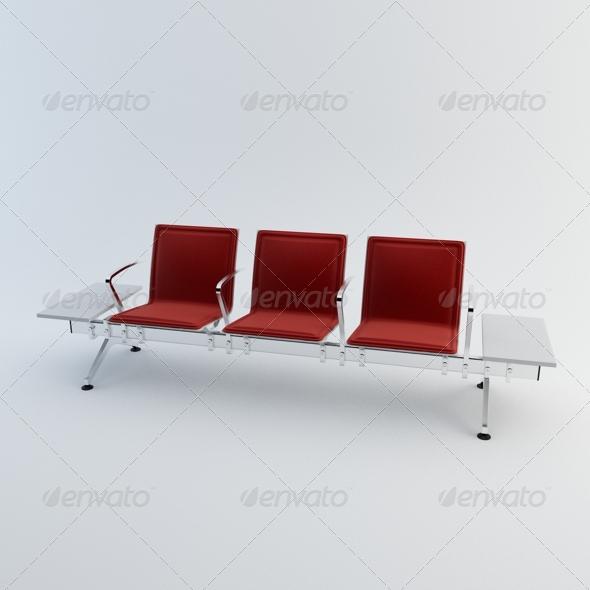 3DOcean Waiting Chairs 165713