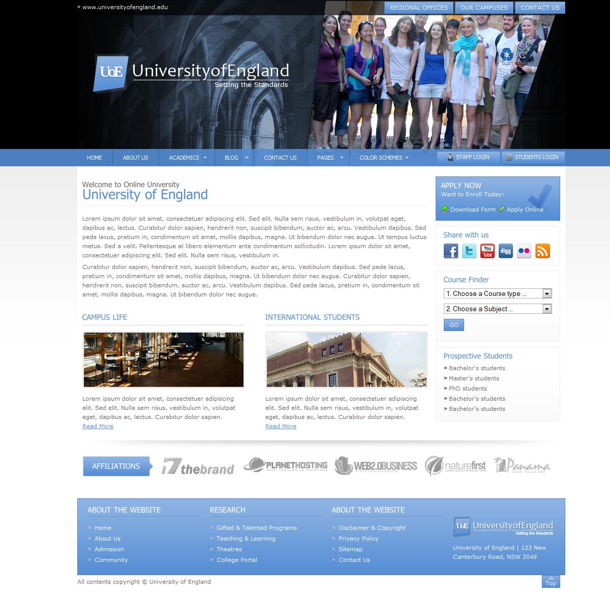 UniversityCollegeSite