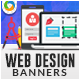 HTML5 Design & Agency Banners - GWD - 7 Sizes