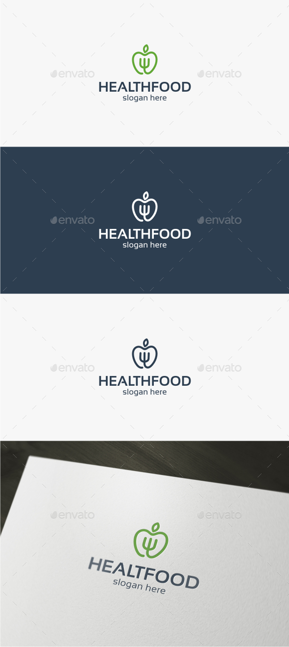 Health Food - Logo Template
