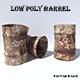 Rusty Steel Barrel