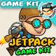 Jetpack Boy Game Assets
