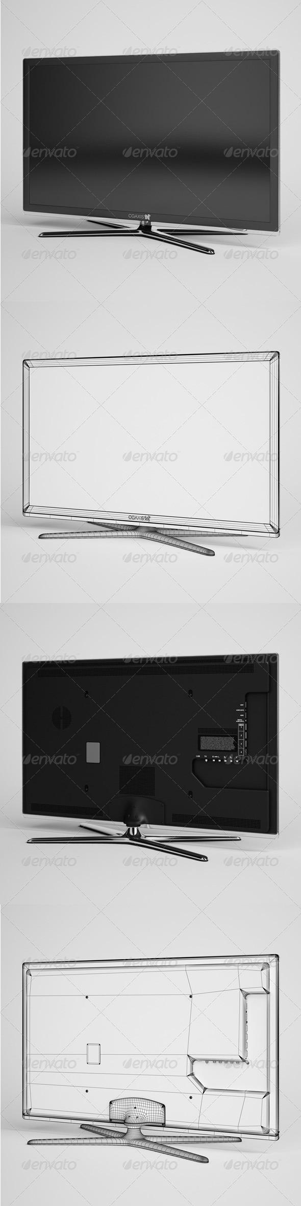 3DOcean CGAxis TV Flatscreen Electronics 01 165740