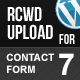 Rcwd Upload for Contact Form 7