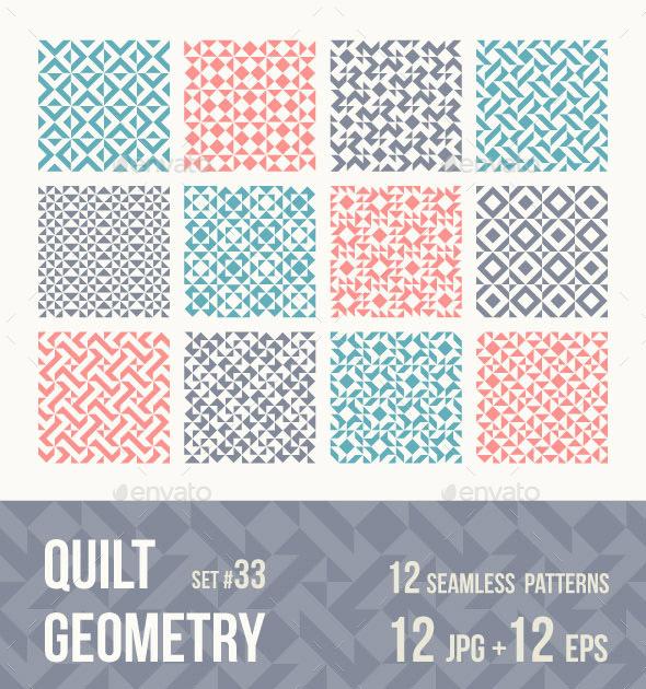 12 Tileable Geometric Patterns