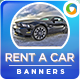 Car Sales and Rental HTML5 Banners- GWD - 7 Sizes