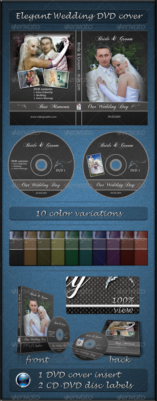 GraphicRiver Elegant Wedding DVD Cover 165781