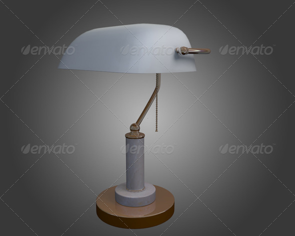 Table Lamp - 3DOcean Item for Sale
