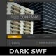 Dark SWF Template ( AS3 / NO XML ) - ActiveDen Item for Sale