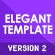 Elegant Template V2 - ActiveDen Item for Sale