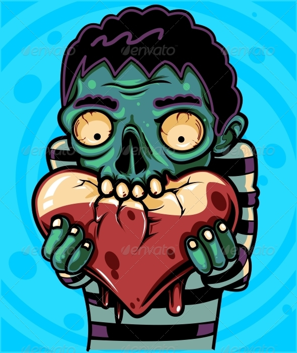 GraphicRiver Zombie Love 1395600