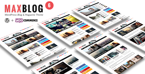 MaxBlog - Flat News Magazine Blog WP