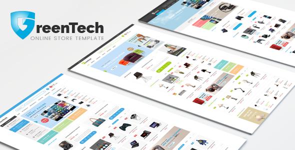 GreenTech - Responsive Shopping Bootstrap Template