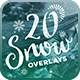 20 Snow Overlays