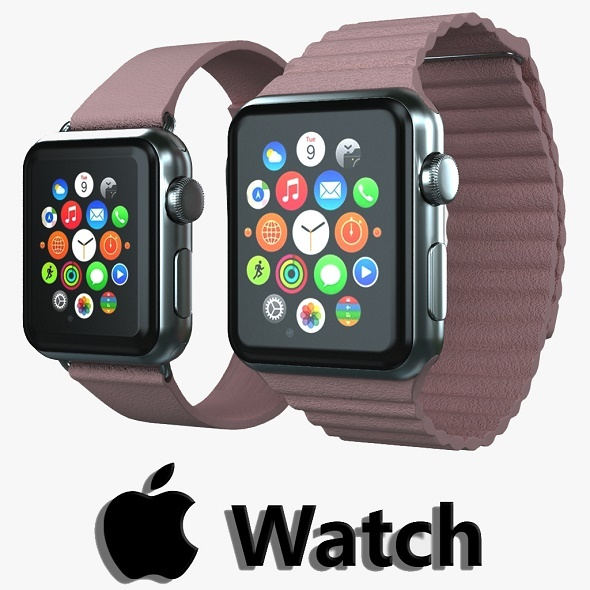 Apple watch v4 - 3DOcean Item for Sale