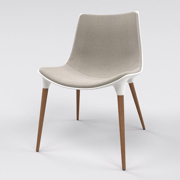 Langham Chair - 3DOcean Item for Sale