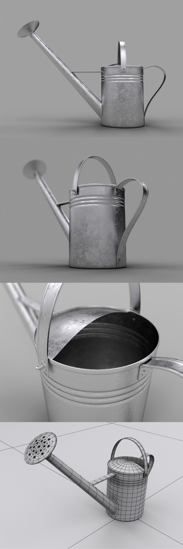 3DOcean Realistic Watering Can 13974540