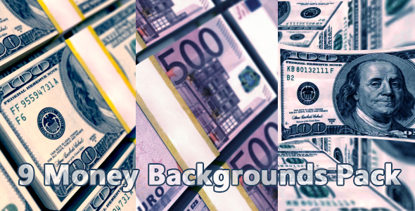 Dollar Bills Backgrounds - 1