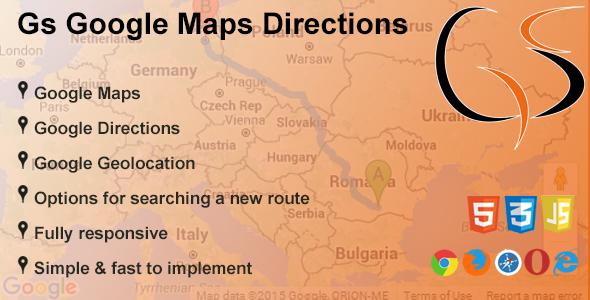 Gs Google Maps Directions (Navigation) images
