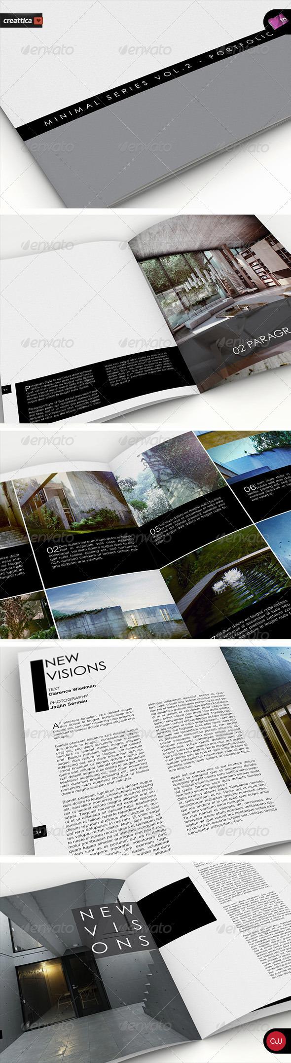 Portfolio Brochure Template - Vol.4 - Portfolio Brochures