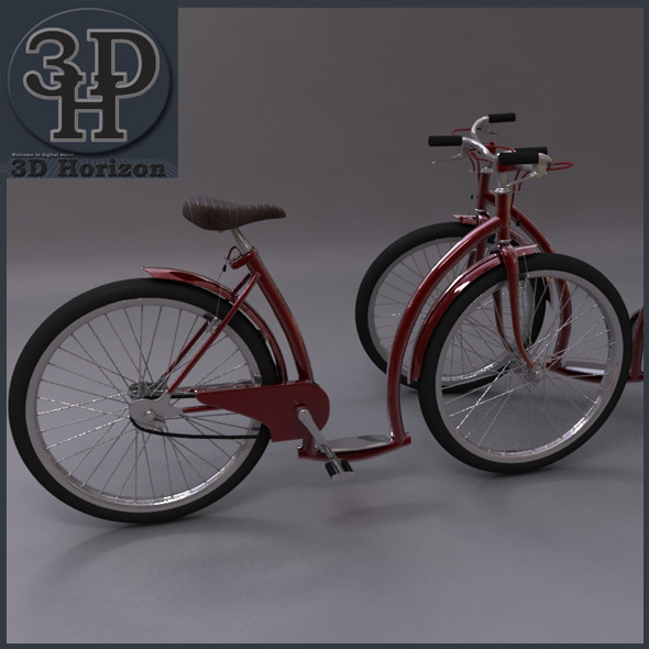 Bicycles - 3DOcean Item for Sale