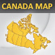 Canada layered vector map - GraphicRiver Item for Sale