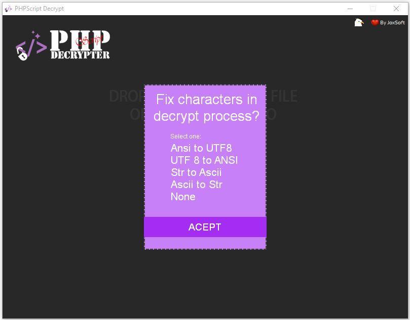 PHPScript Decrypter Pro - 4