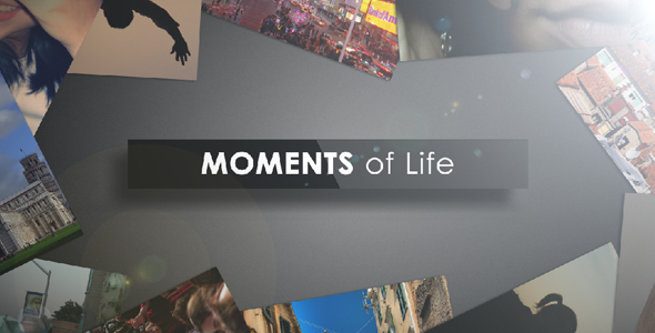 After Effects Project - VideoHive Moments of Life 165983