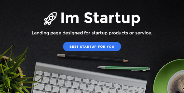 Image of ImStartup - Startup Landing Page With Page Builder