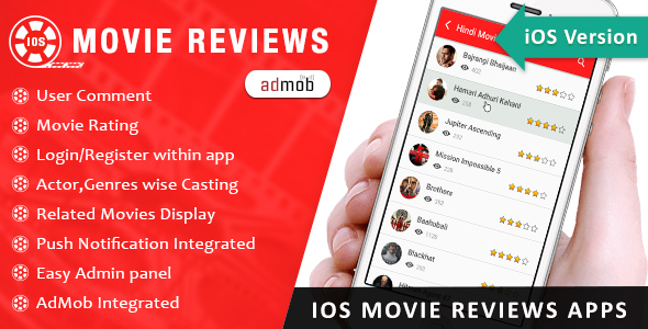 CodeCanyon iOS Movie Review App 13986648