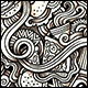 2 Fastfood Doodles Graphics Seamless Patterns
