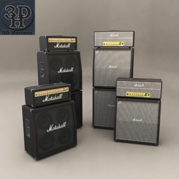 3DOcean Marshall 100JH 1396491