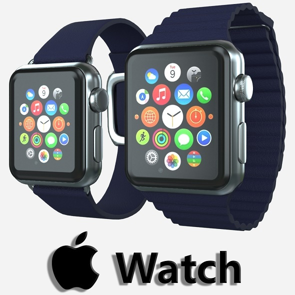 Apple watch v5 - 3DOcean Item for Sale