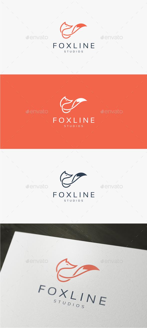 Fox Line - Logo Template