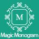 Magic Monogram Light Illustrator Script
