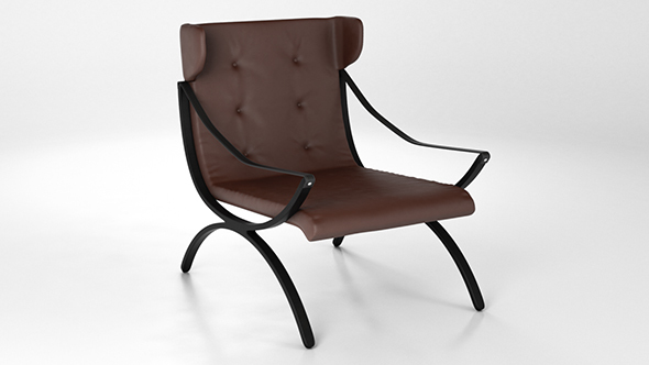 Shelford Armchair - 3DOcean Item for Sale