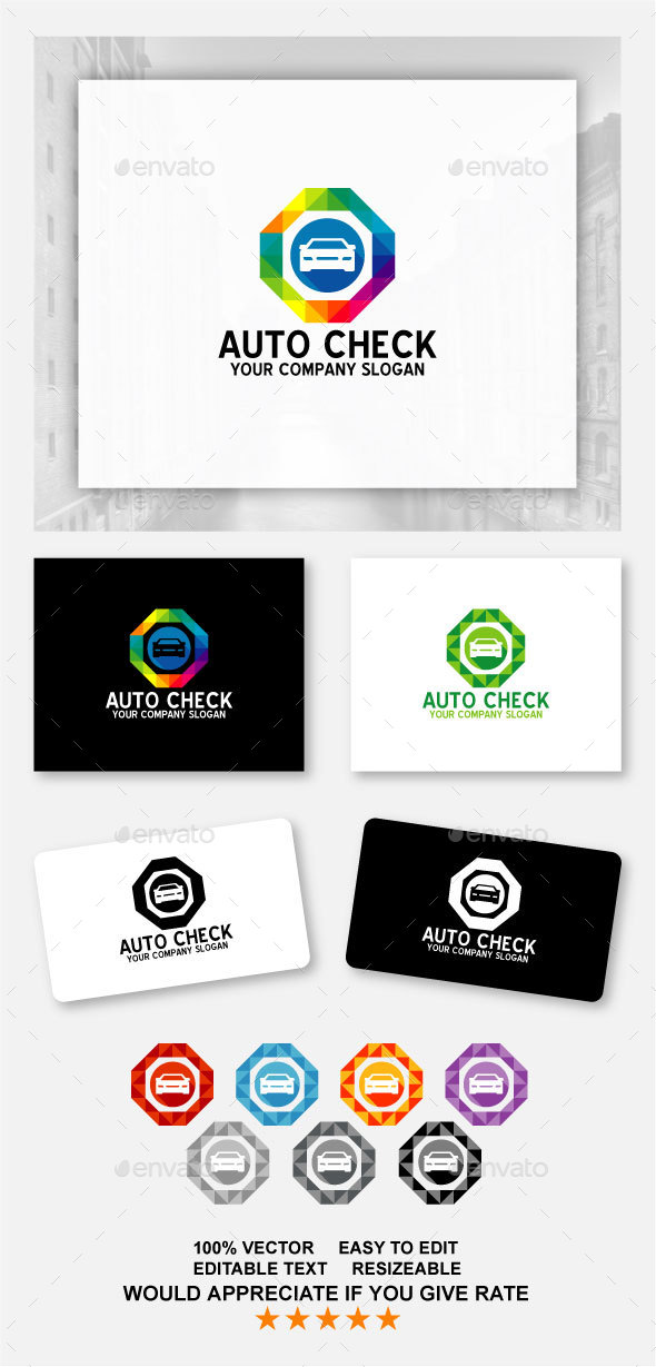 Auto Check Car Logo
