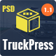 TruckPress | Logistics & Transport Business PSD - ThemeForest Item for Sale