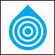 Target Drop Logo Template