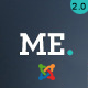 ME - MultiPurpose, Creative Joomla Template - ThemeForest Item for Sale